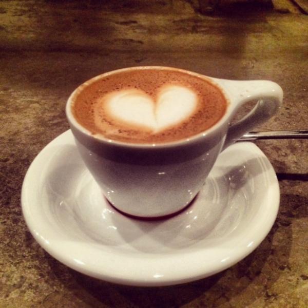 coffee at intelligensia in venice